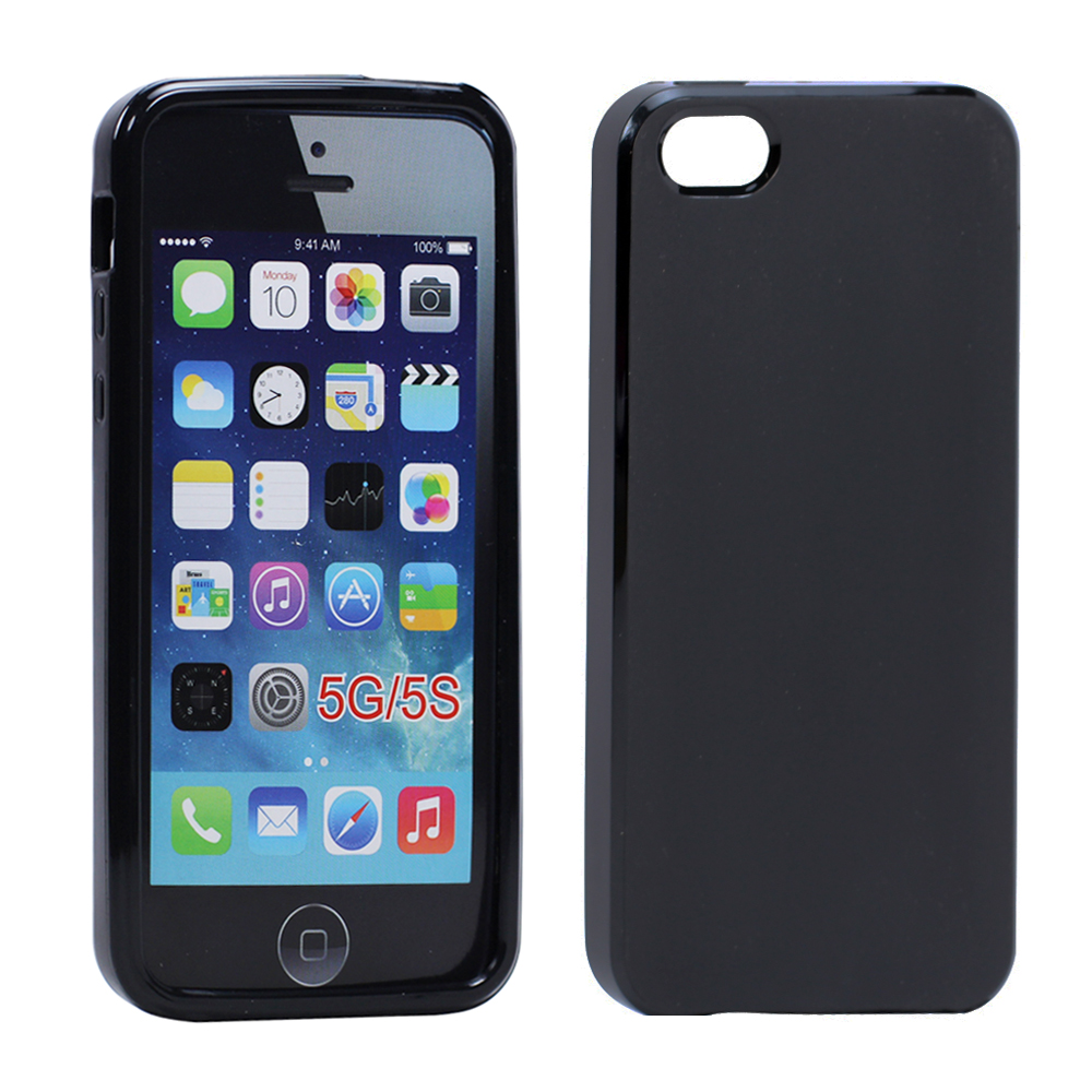 cheap iphone 5s iphone 5 5s matte tpu gel black 10369