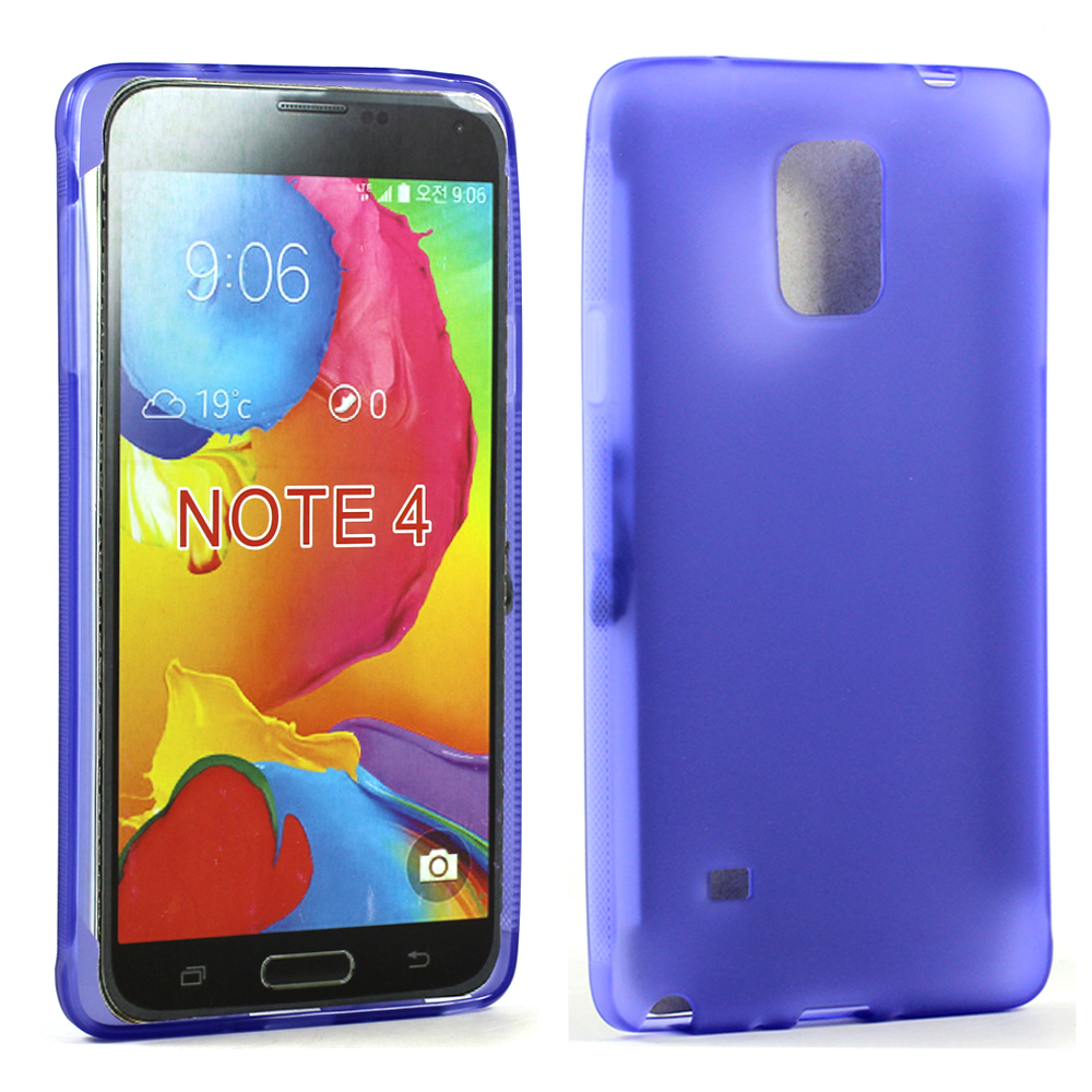 pretty nice ec018 86a74 Wholesale Samsung Galaxy Note 4 Soft TPU Gel Case (Purple)
