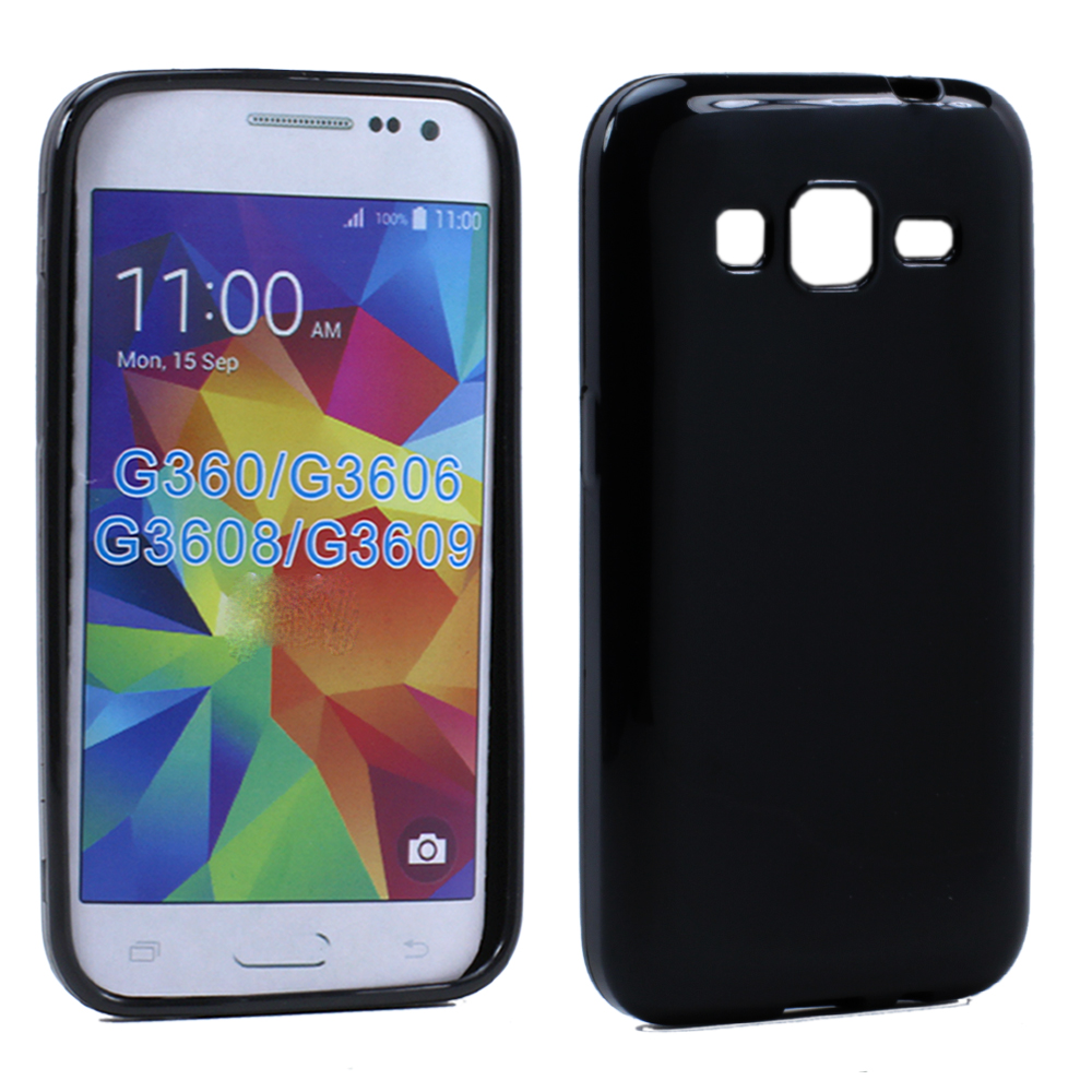 online store 27858 ccc41 Wholesale Samsung Galaxy Prevail LTE G360 TPU Gel Soft Case (Black)