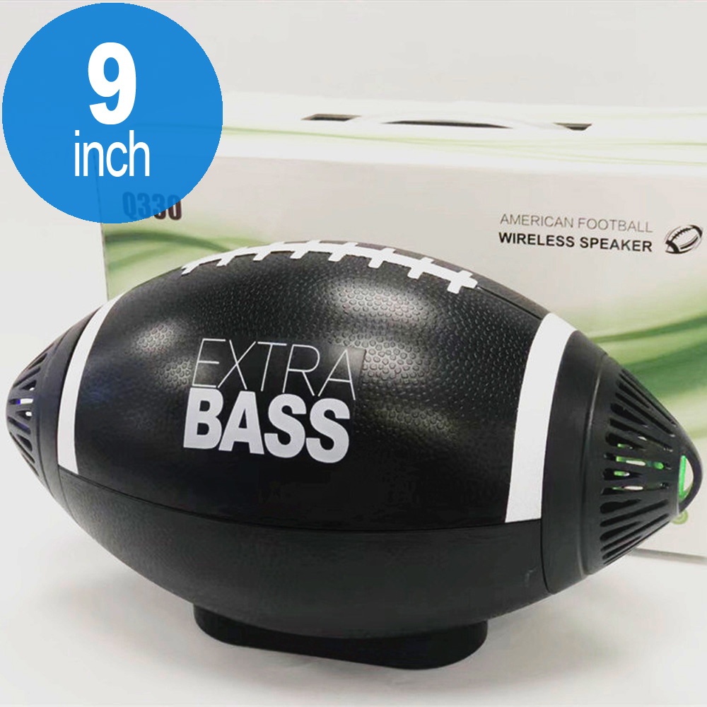 American FOOTBALL Design Style Portable Bluetooth Speaker Q330 (Black)